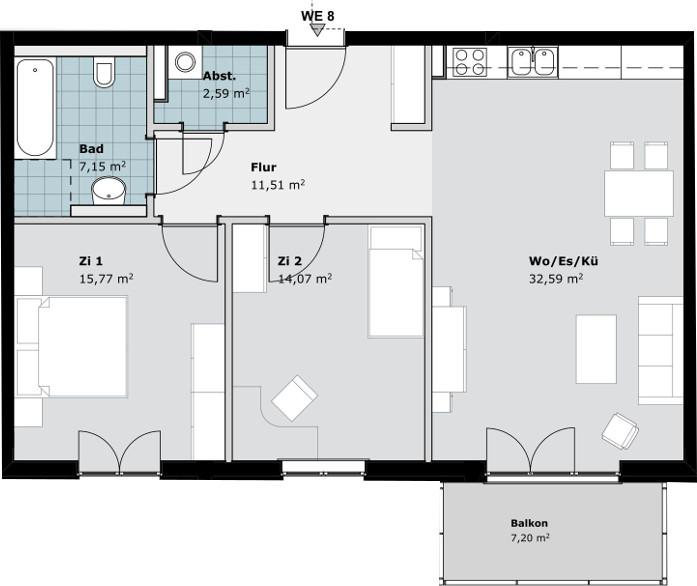 Wohnung 7 | Wohnung 8 | Wohnung 9